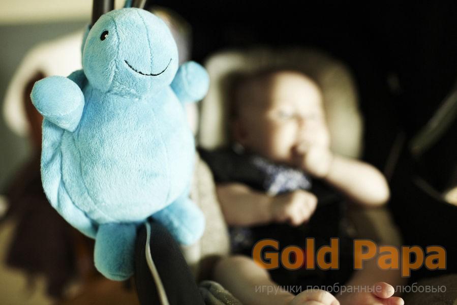 Голубая черепашка со звуком Cloud b-колыбельная мелодия