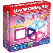 Магнитный конструктор MAGFORMERS Pastelle 14