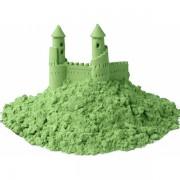 Цветной кинетический песок (зелёный) 1 кг